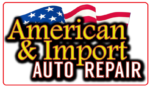American & Import Auto Repair Clear Logo