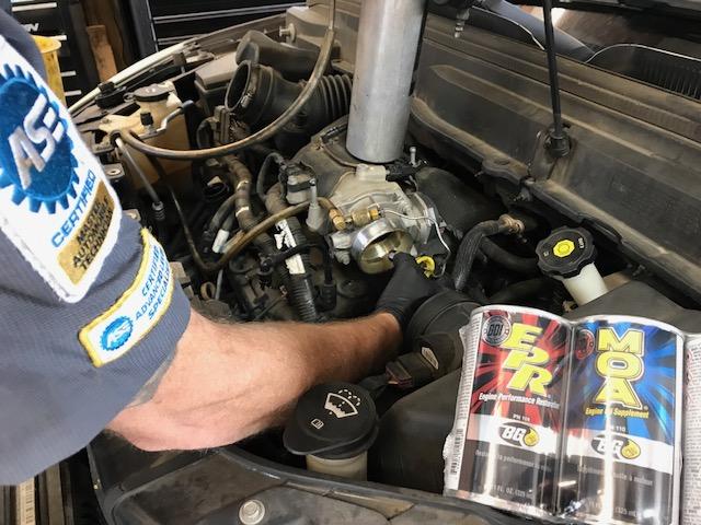 BG Fuel Induction At American & Import Auto Repair